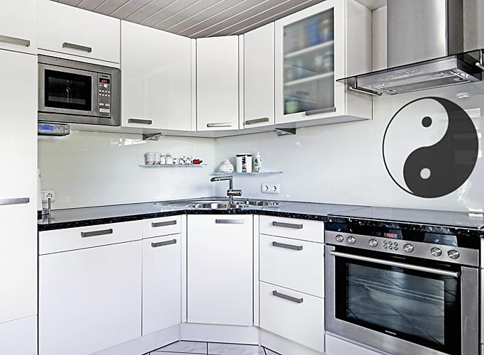 Glaserei Zettl Küchenrückwände - Küche glasrückwand auf fliesen